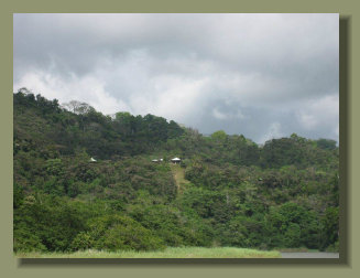 A view of the Oceanview Forest Land on the hills along the south coast of the Osa Peninsula, close to Corcovado Park