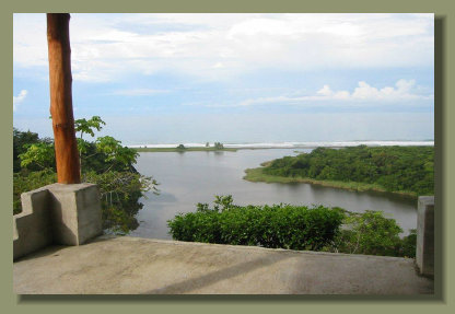 The great Oceanview Property located in Carate, Osa Peinsula, close to the Corcovado Park entrance, over the Lagoon